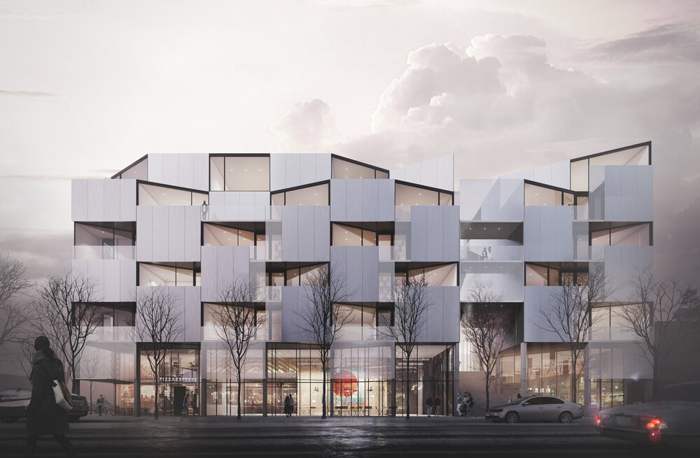 Courtyard 33 Calgary Condo Development - Mechanical Contracting