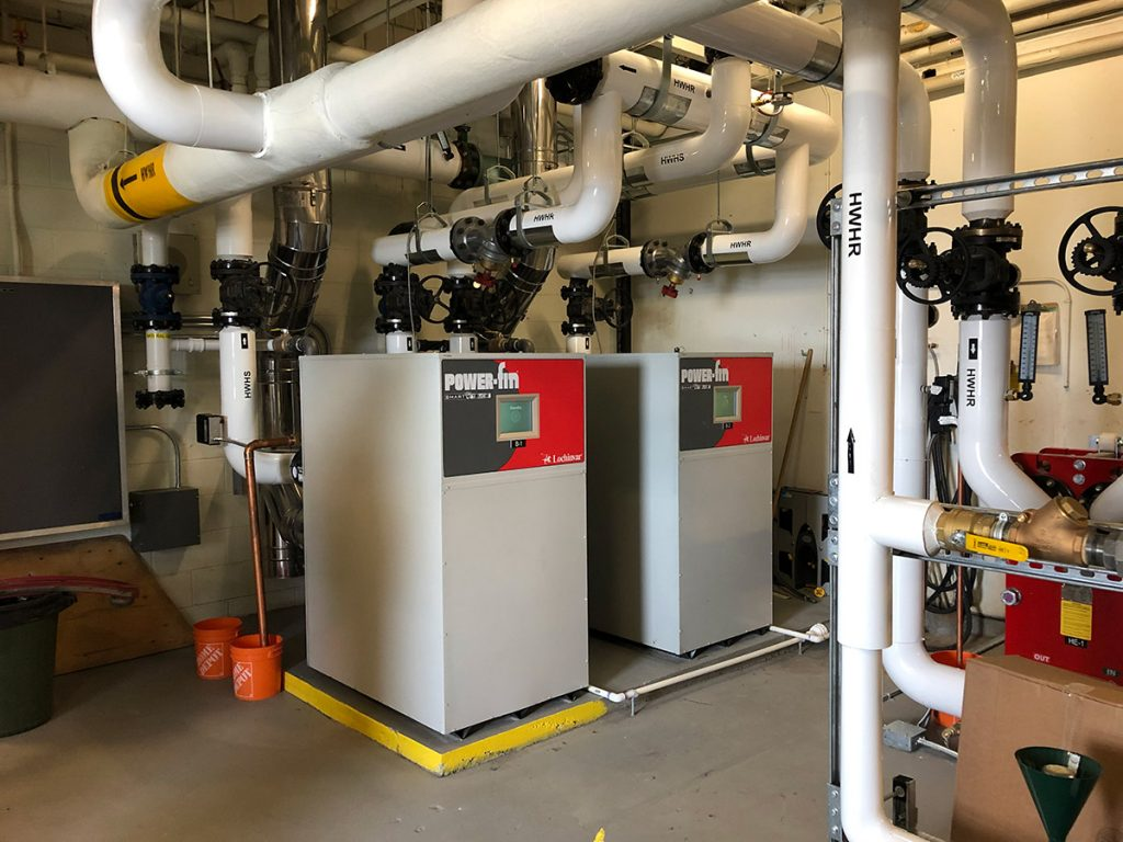 Springbank Highschool - Calgary Mechanical Contractor