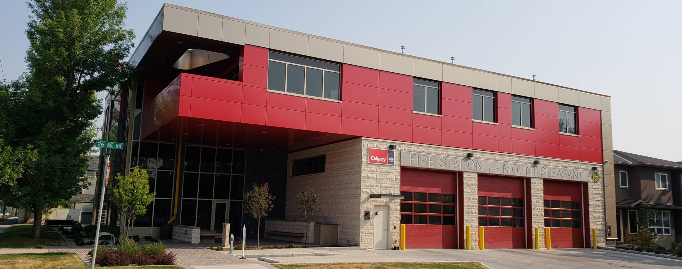 Calgary Fire Station - Mechanical Contractor Calgary